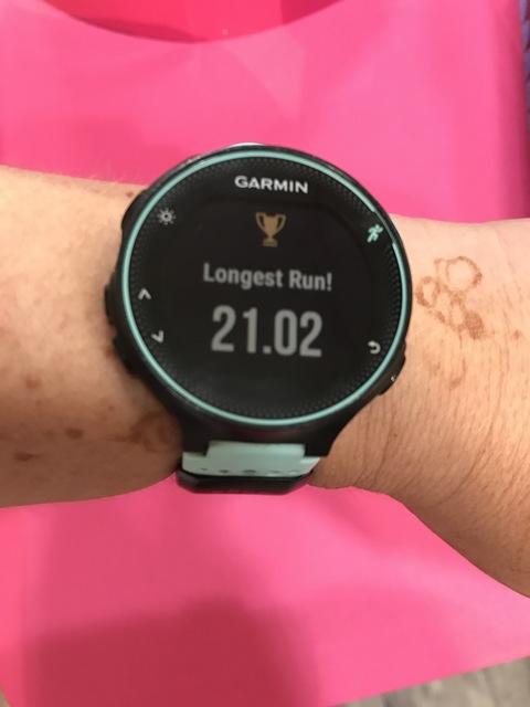 longest run