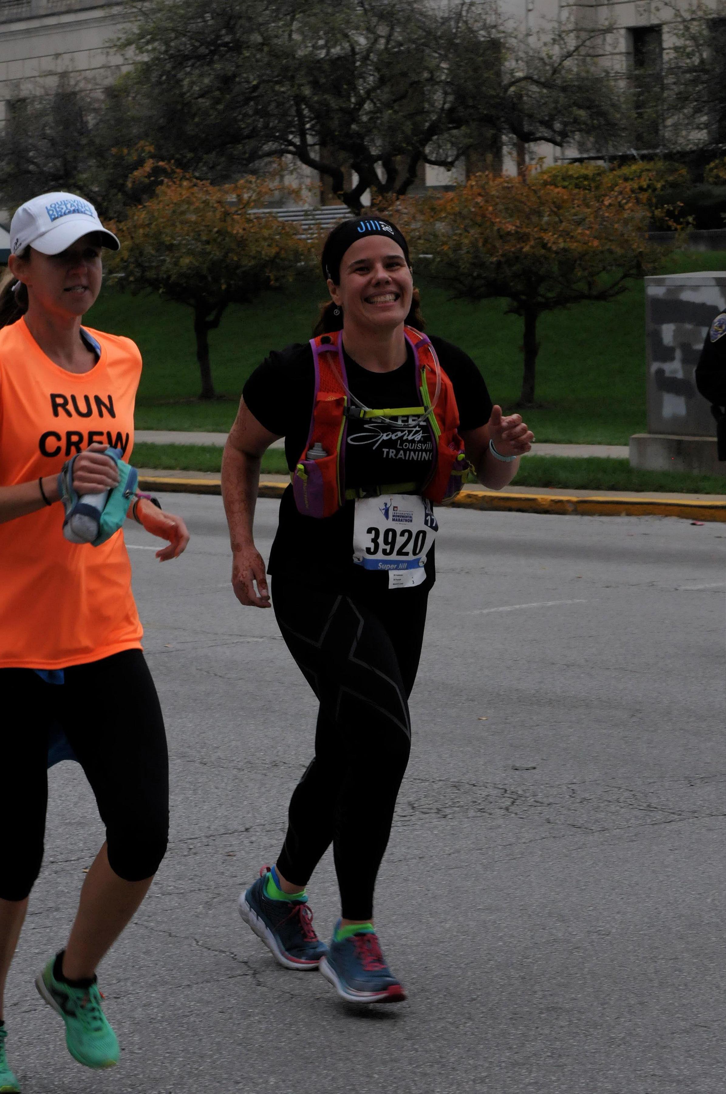 running with cristin