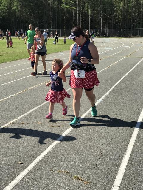Zoe running