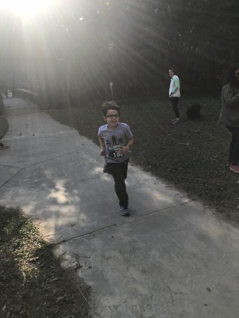 caleb's final run